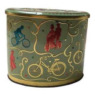 Vintage English Candy Tin For Sale