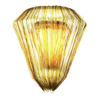 Brilli E Chandelier in Gold Resin by Jacopo Foggini For Sale