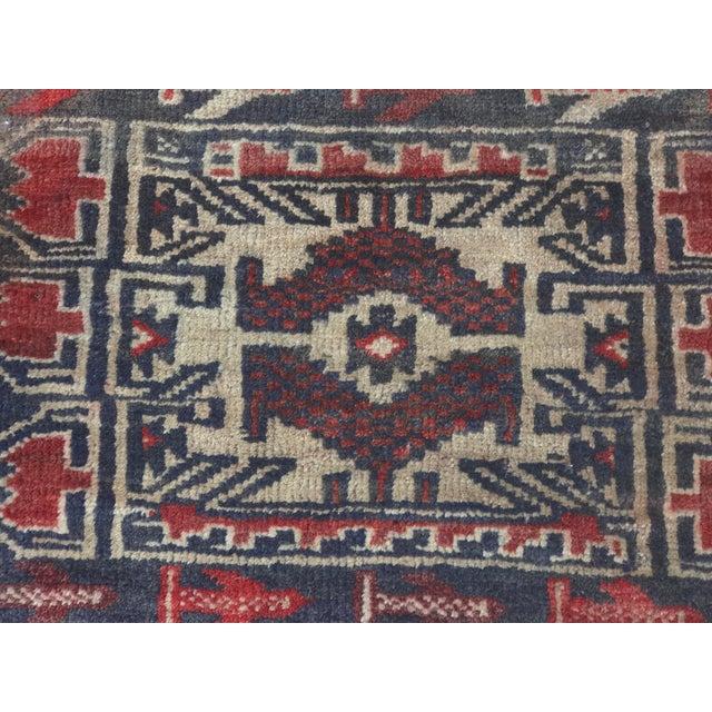 "Vintage Persian Baluchi Rug - 2'6""x3'5"" - Image 5 of 11"