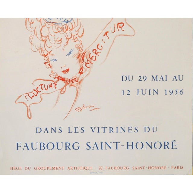 Date: 1956 Size: 17.25 x 25 inches About The Poster: A poster, in excellent condition, which we have not seen before for...