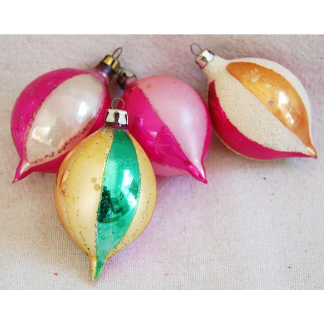 1950s Christmas Ornaments With Box - Set of 12 - Image 6 of 7