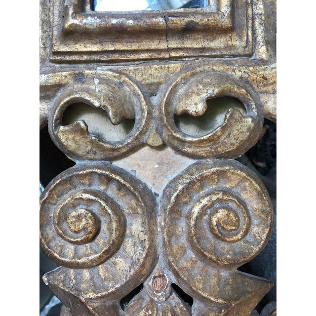 18th Century Small Italian Mirror For Sale - Image 10 of 13