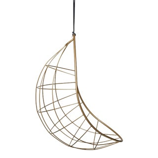 Nest Egg - Jozi Style Hanging Chair in Gold For Sale