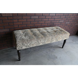 Ethan Allen Wellesley Upholstered Bench Preview