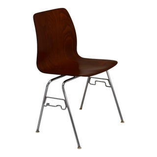 Pagholz Rosewood Tandem Stacking Chair For Sale