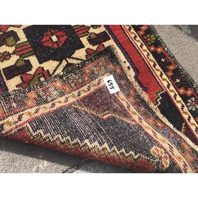 Vintage Handmade Anatolian Rug- 1′10″ × 3′6″ For Sale - Image 4 of 6