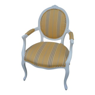 Ralph Lauren Yellow Armchair