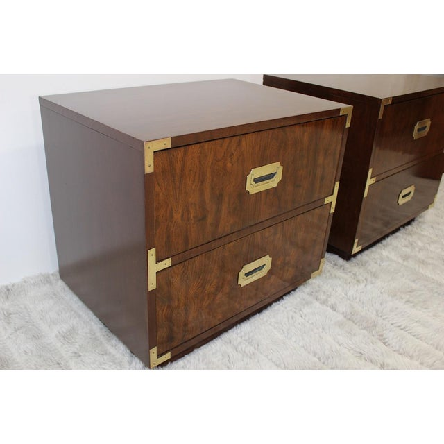 Mid Century Modern end tables/nightstands - a Pair - Image 4 of 11