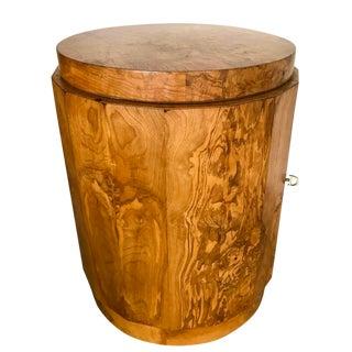 Edward Wormley for Dunbar Burl Wood Bar Cabinet