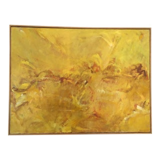 Large Scale Vintage Abstract Painting