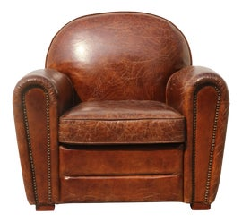 Image of Rustic Club Chairs