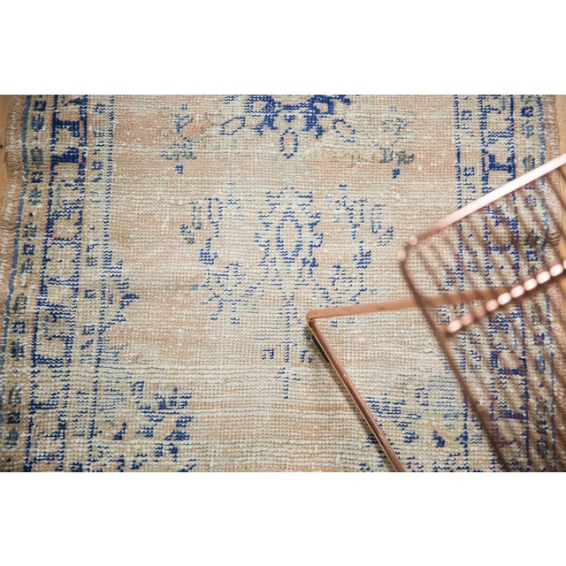 """Vintage Distressed Oushak Rug Runner - 2'7"""" X 4'9"""" For Sale In New York - Image 6 of 12"""