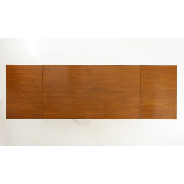 Brown Guglielmo Pecorini Extension Dining Table For Sale - Image 8 of 13