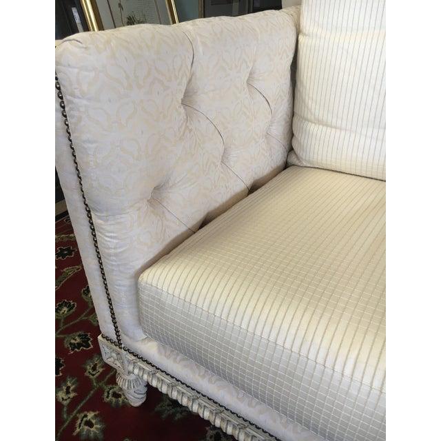 William Switzer Ivory Sofa - Image 5 of 9