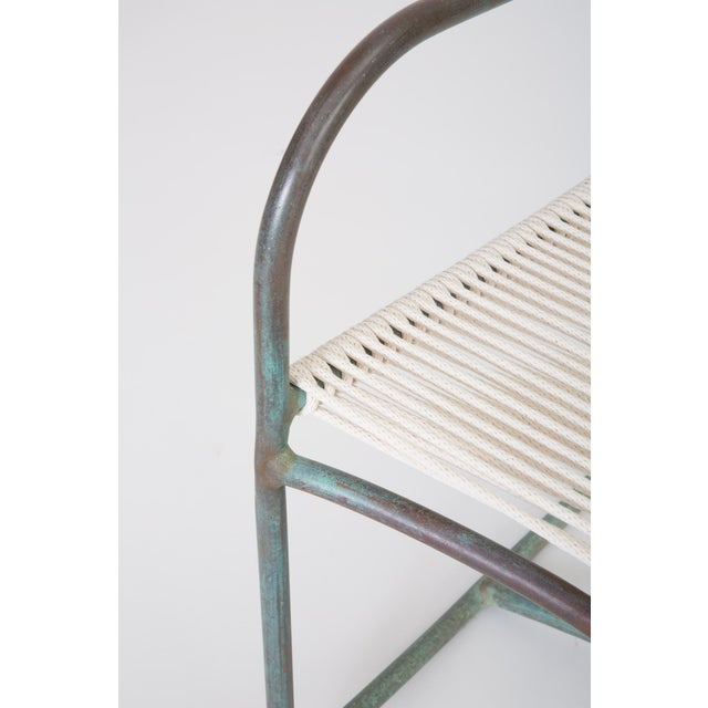 Early Model Walter Lamb Patio Rocking Chair For Sale - Image 10 of 11