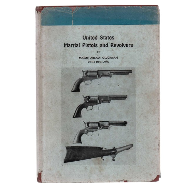 """1944 """"U. S. Martial Pistols and Revolvers"""" Collectible Book For Sale"""