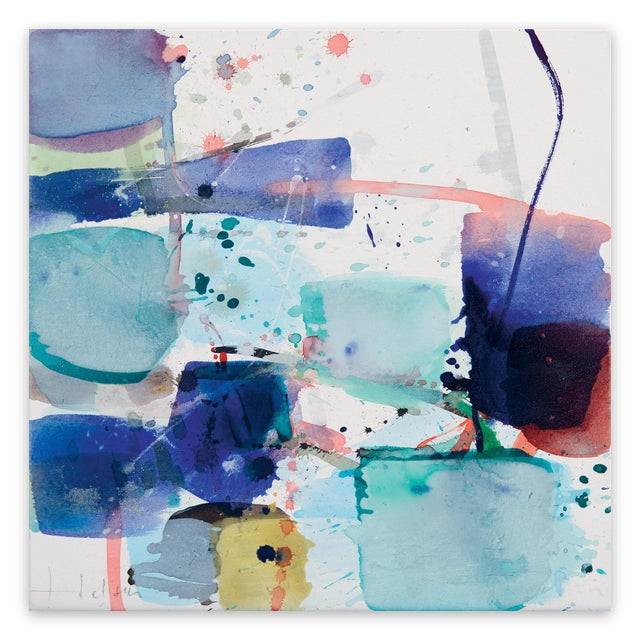 "Greet Helsen Greet Helsen ""Open Space"", Painting For Sale - Image 4 of 4"