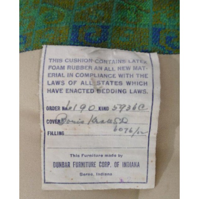 Textile Diminutive Edward Wormley Dunbar Club Chairs For Sale - Image 7 of 7