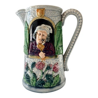 Majolica Pitcher For Sale