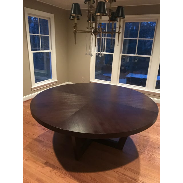 Italian 72 Inch Round Dining Table For Sale - Image 12 of 13