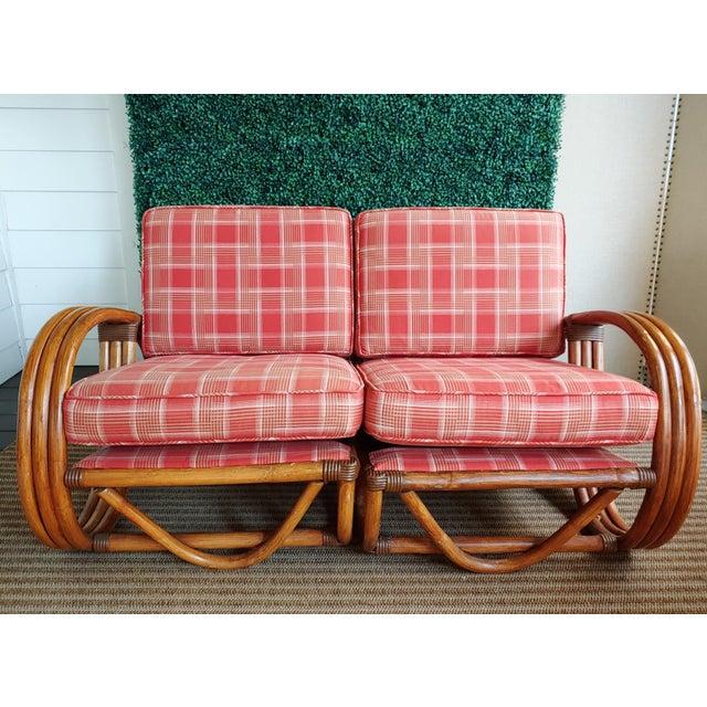 Mid-Century Modern Pretzel Sectional Sofa | Chairish