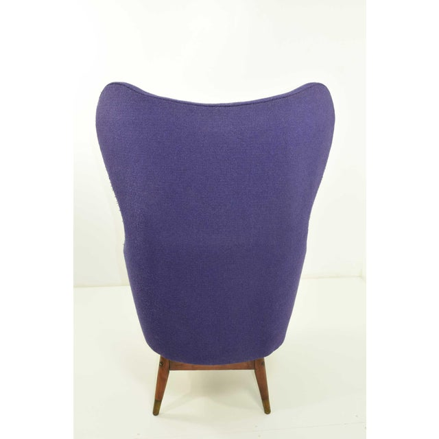 Mid-Century Modern Mid-Century Danish Lounge Chair For Sale - Image 3 of 9