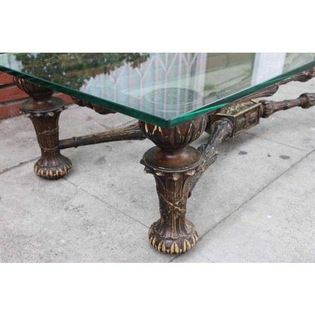 Wood Spanish Coffee Table Chairish