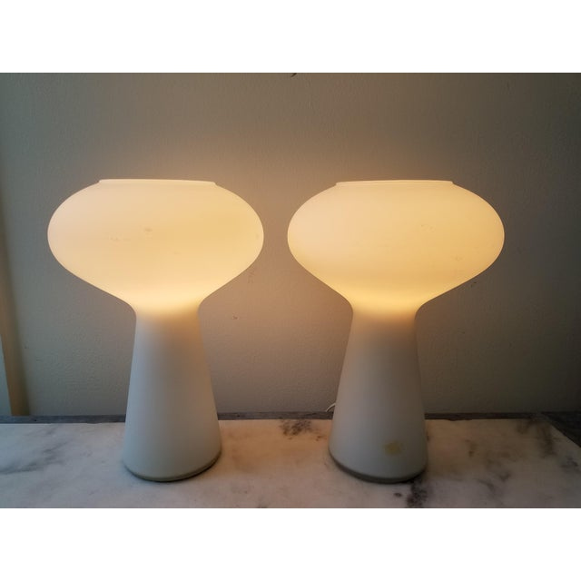 Lisa Johansson Pape Glass Lamps - A Pair - Image 7 of 11