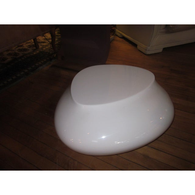 """This is an artful modern low profile cocktail table called the """"Cute Cut"""" design, created for Roche Bobois by Cedric..."""