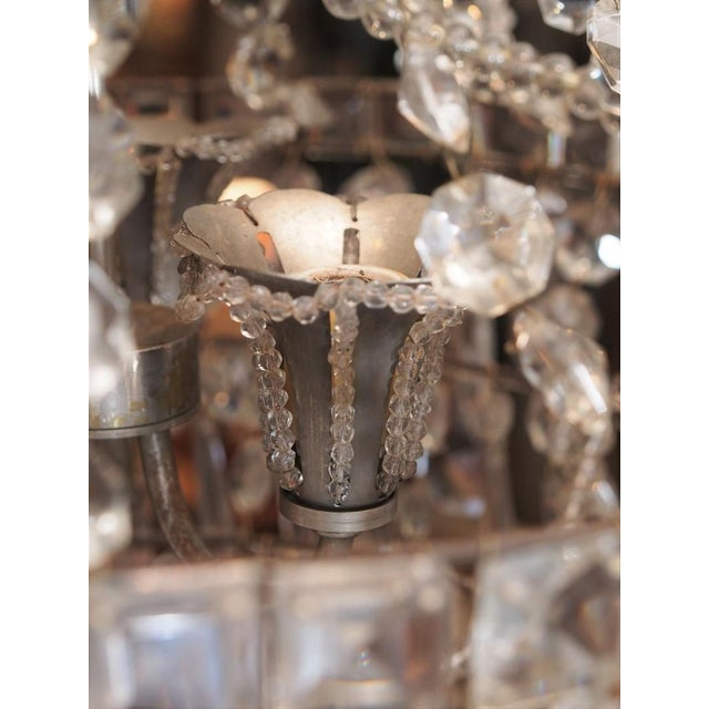 Early 19th Century French Crystal Chandelier For Sale In New Orleans - Image 6 of 6