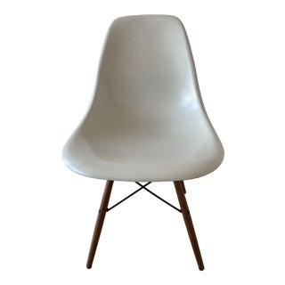 Eames Molded Fiberglass Chair For Sale