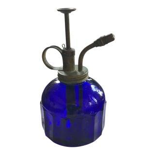 Vintage Cobalt Glass Plant Mister