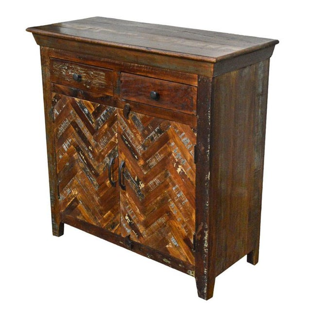 Reclaimed Sideboard Free Standing Cabinet - Image 3 of 3