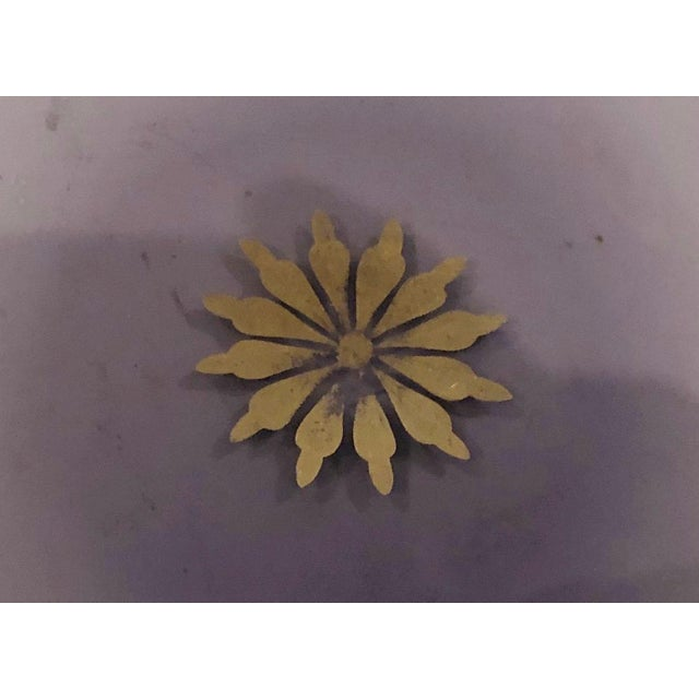 French 1940s French Amethyst Hollywood Regency Dish For Sale - Image 3 of 5