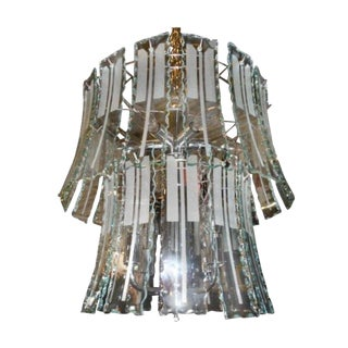 1960s Vintage Modern Jellyfish Chandelier For Sale