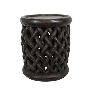 Bamileke Basket Weave Stool For Sale