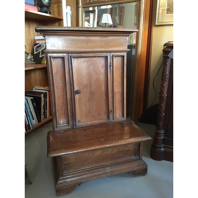 1900s Renaissance Revival Oak Prie Dieu Watson & Boaler Nightstand For Sale - Image 11 of 11