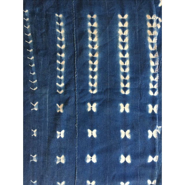 African Mud Cloth Fabric For Sale - Image 4 of 4