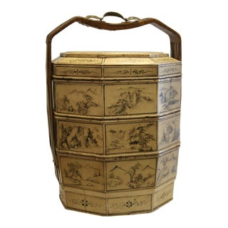 Antique Chinese Food Container For Sale