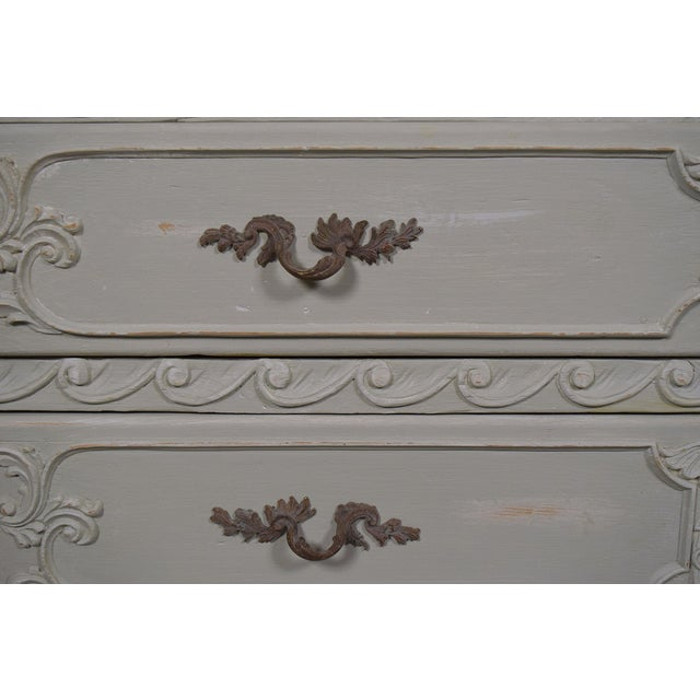 1930s Louis XVI Style Chest Of Drawers - Image 7 of 8