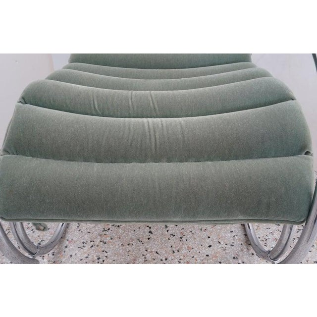 Vintage Art Deco Mies Van Der Rohe Lounge Chair by Gordon International For Sale - Image 11 of 13