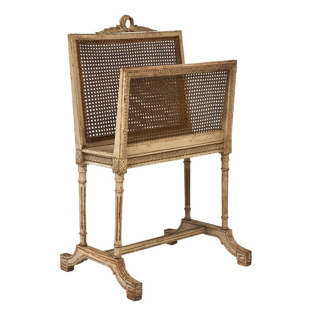 Vintage Louis XV Style Magazine Rack For Sale - Image 10 of 10