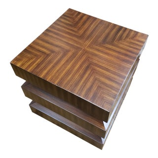 Art Deco Global Views in and Out End Table For Sale