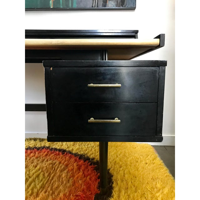 Mid Century Biscayne Floating Desk Edward Wormley for Drexel - Image 7 of 11