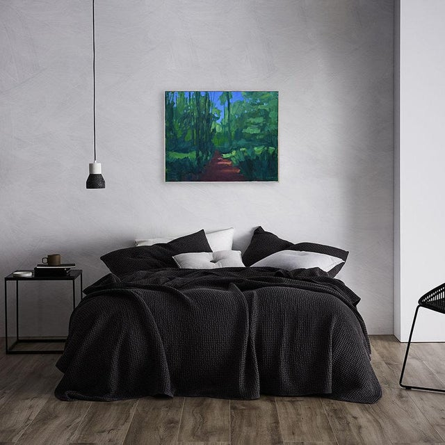 """Stephen Remick """"A Walk in the Woods"""" Contemporary Painting For Sale - Image 12 of 12"""