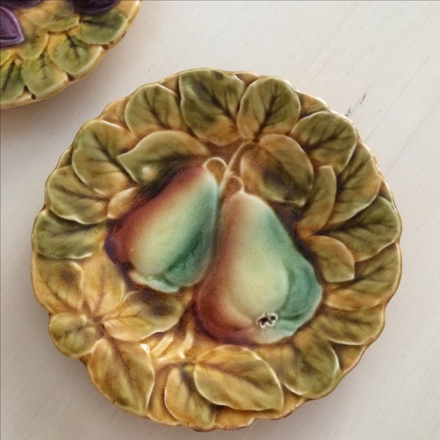 French Sarreguemines Majolica Plates - Set of 5 - Image 7 of 11