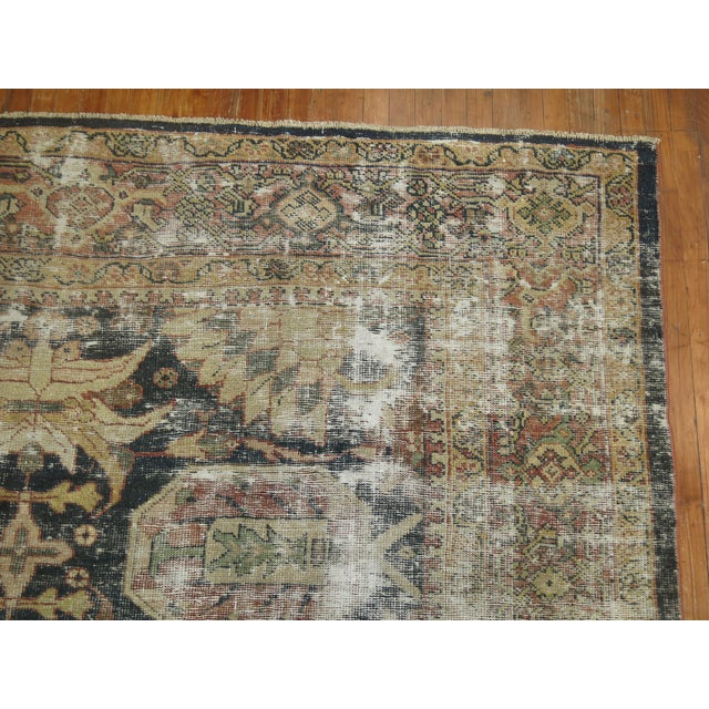 Distressed Persian Sultanabad Rug - 8'7'' x 11'9'' - Image 4 of 10