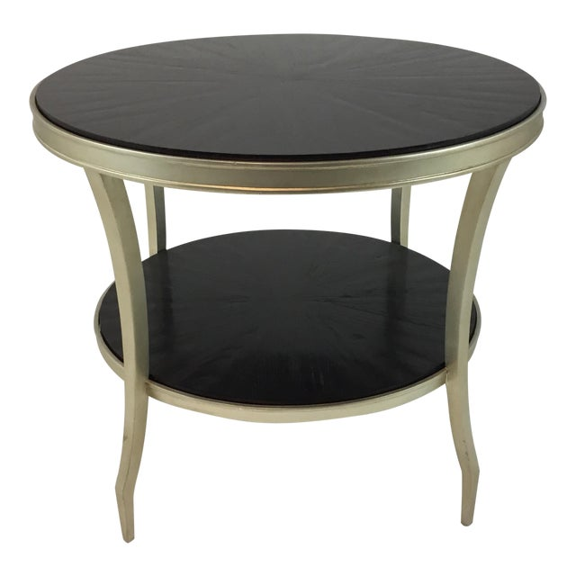 Barbara Barry for Henredon Cuff Link End Table For Sale