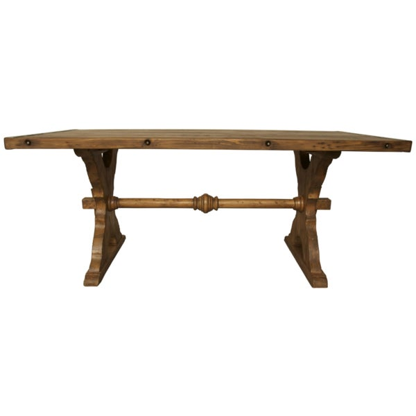 Country Hoff Dining Table by Noir For Sale - Image 3 of 3