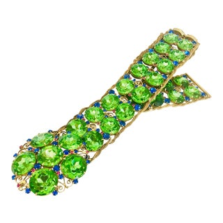 Kenneth Jay Lane Bejeweled Crystal Belt For Sale